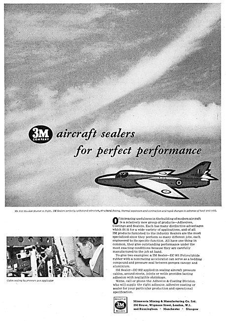 3M Aircraft Sealers 1958