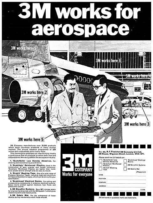 3M  Aerospace Plastics, Tapes & Adhesives