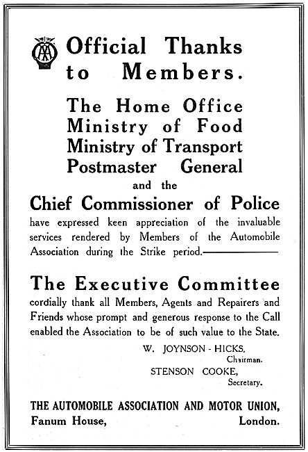 The Automobile Association. The A.A.
