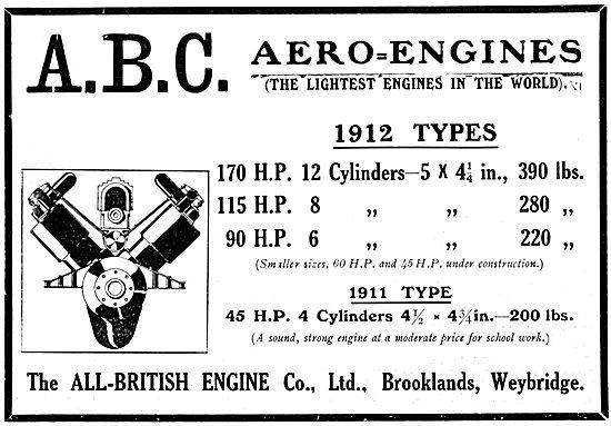 ABC Aero-Engines 1912