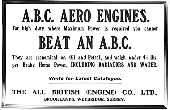 You Cant Beat An ABC Aero Engine For Power & Economy