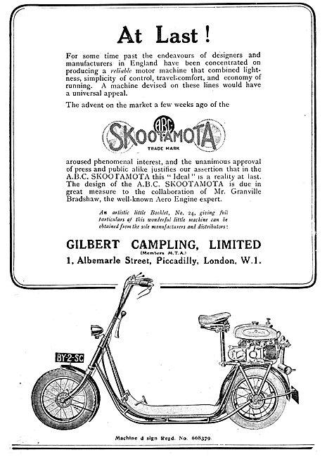 ABC Skootamota - Granville Bradshaw - Gilbert Campling
