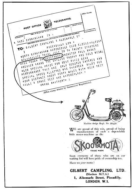 ABC Skootamota - Gilbert Campling