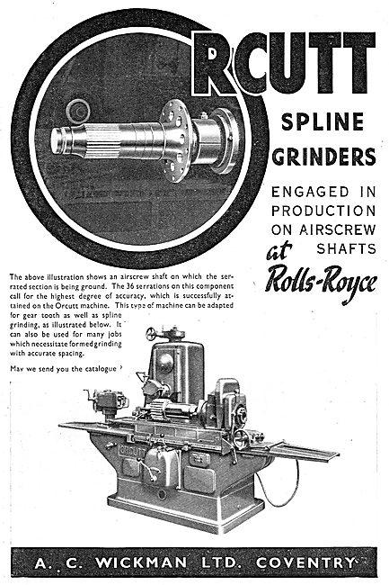 A.C. Wickman RCutt Spline Grinders