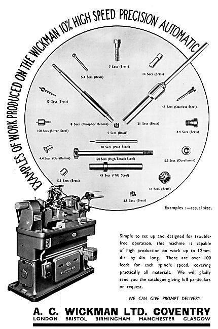 A.C.Wickman Engineering Machinery