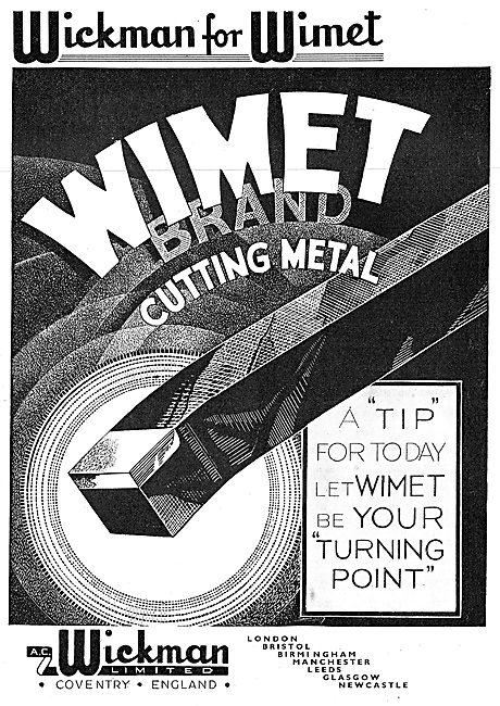 A.C. Wickman Wimet Cutting Metal