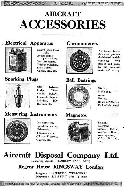 Aircraft Disposal Company - Airdisco - ADC Aero Accessories