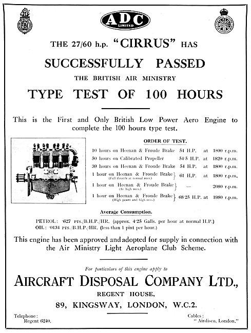 ADC Aircraft - Airdisco - Aircraft Disposal Company - Cirrus