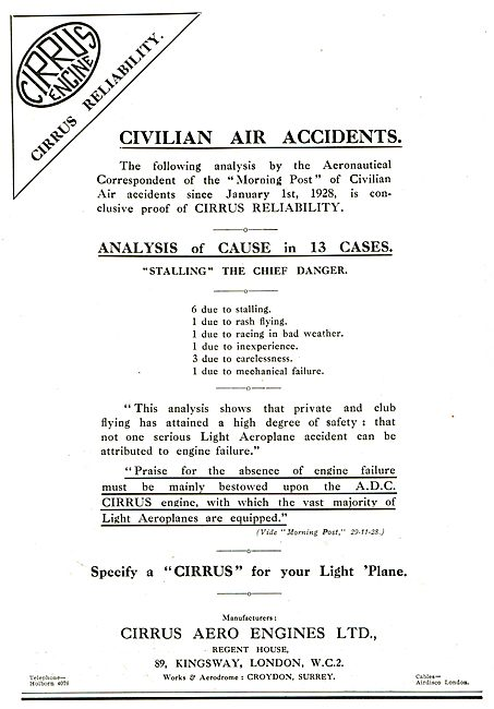 ADC Aircraft - Airdisco -  Cirrus Civilian Air Achievements