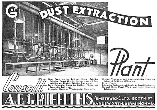 A.E.Griffiths. Factory Ventilation Equipment & Sheet Metalwork