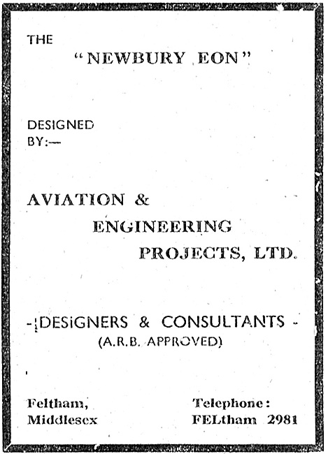 Aviation & Engineering Projects  Aviation Designers & Consultants