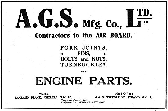 A.G.S. Mfg.Co - AGS Parts
