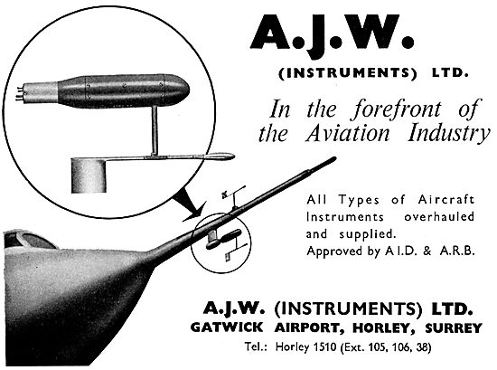 A.J.W. Instruments.  Instrument Servicing & Repairs