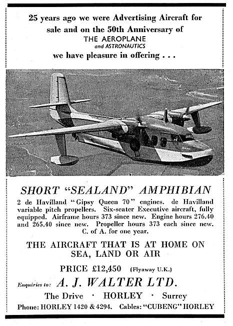 A.J.Walter - Short Sealand