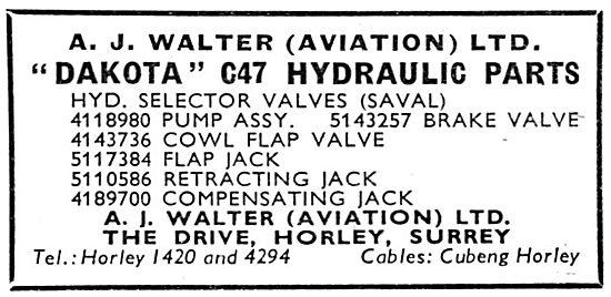 A.J.Walter - Aircraft Spares