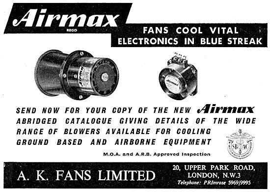 A.K.Fans. Electronics Cooling Fans. AIRMAX Fans