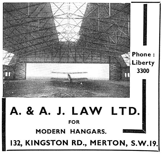 A.& A.J Law. Structural Engineers. Aircraft Hangars