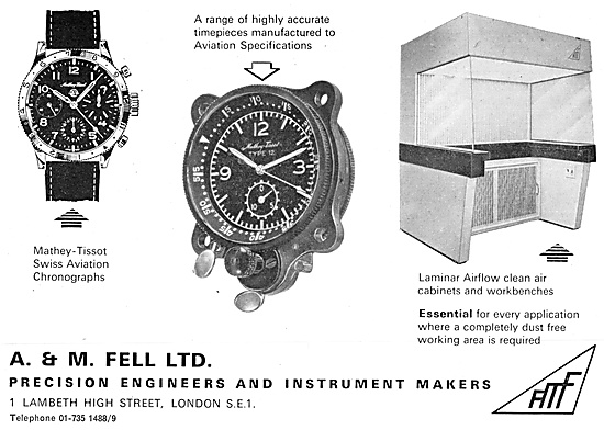 A & M.Fell Precision Engineers & Instrument Makers