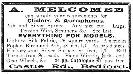 A.Melcombe - Aircraft Parts & Accessories