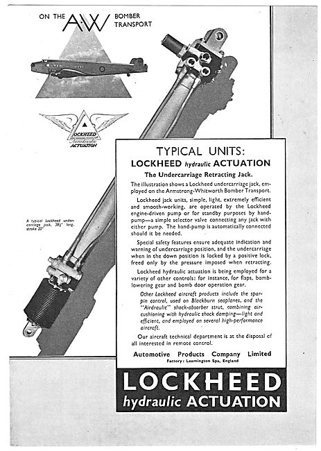 Lockheed Hydraulic Undercarriage Retraction Jack
