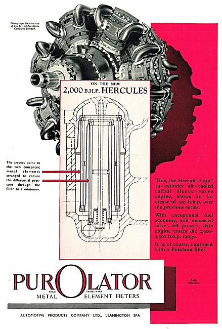 Automotive Products- Purolator Filters