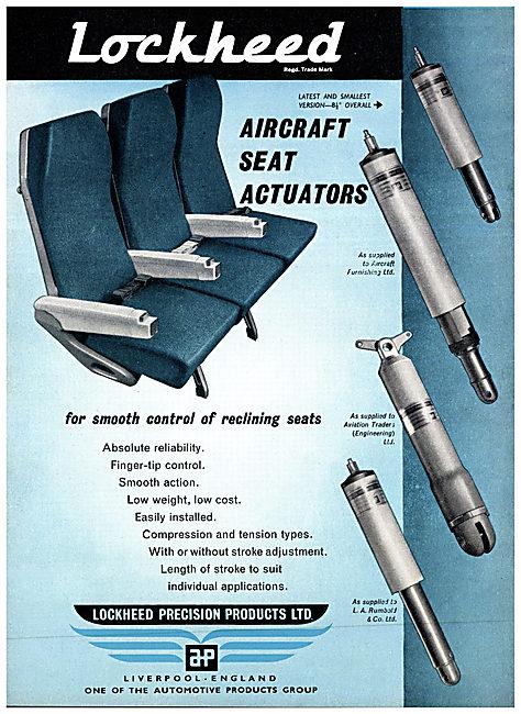 Automotive Products- Lockheed Aircraft Seat Actuators