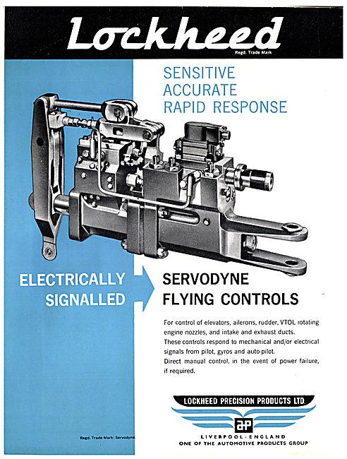 Automotive Products- Lockheed Servodyne Flying Controls