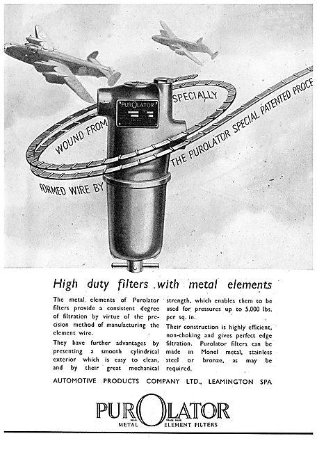 Automotive Products  - Purolator Filters