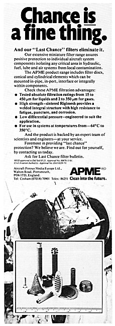 APME Aircraft Porous Media. APME Helicopter Air Intake Protection