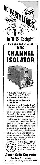 ARC Aircraft Radio Corporation - ARC Isolation Amplifier