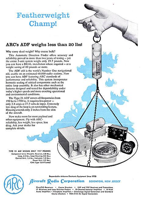 ARC Aircraft Radio Corporation - ARC Type 21 ADF