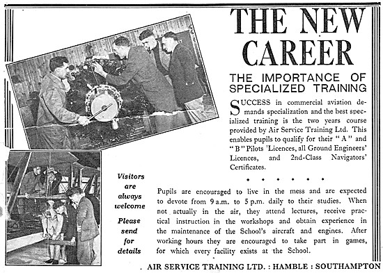 Air Service Training Hamble 1932