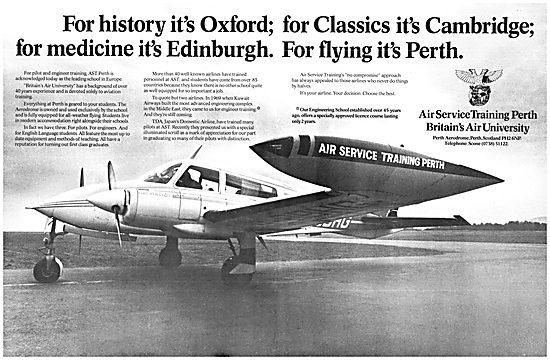 Air Service Training AST Perth 1977