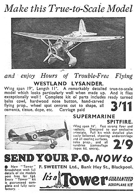 A.Sweeten: Tower Flying Model Aircraft.