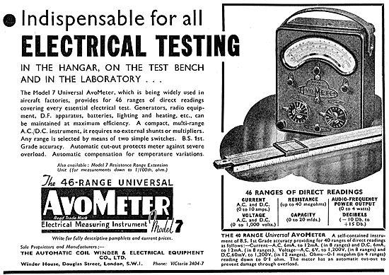 AVO - 46 Range Universal AvoMeter