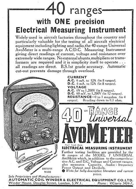 AVO 40 Range Universal AvoMeter