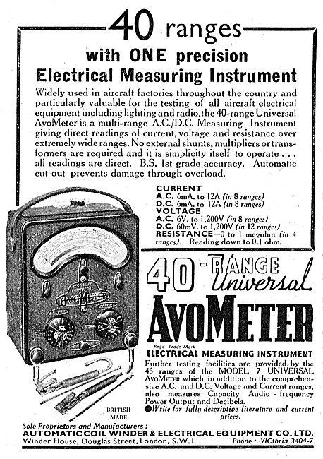 AVO AvoMeter Model 7 40 Range Universal
