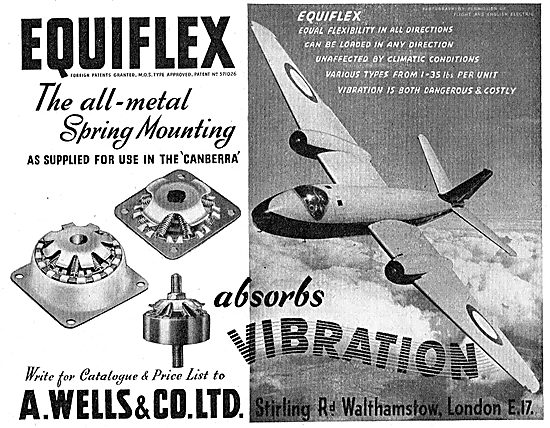 A.Wells & Co: Equiflex Spring Mountings