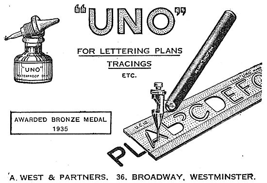 A .West & Partners - UNO Tracing Stencils