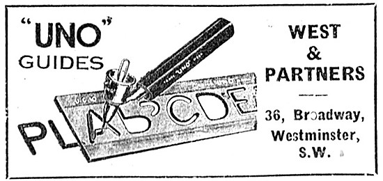 A .West Drawing Instruments For Draughstmen