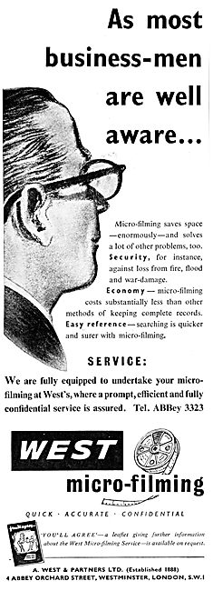 A .West & Partners. Micro-Flming Services