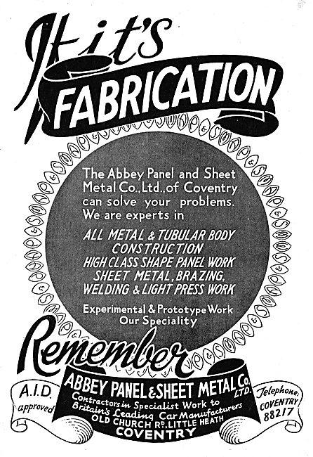 Abbey Panel - Sheet Metal