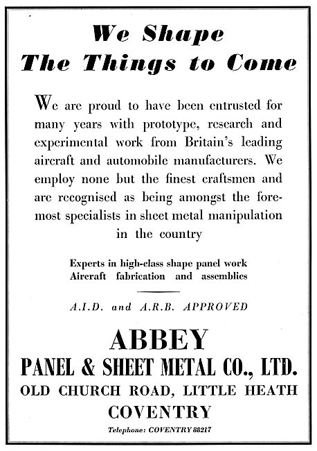 Abbey Panel Sheet Metalworkers - Fabrication & Assemblies