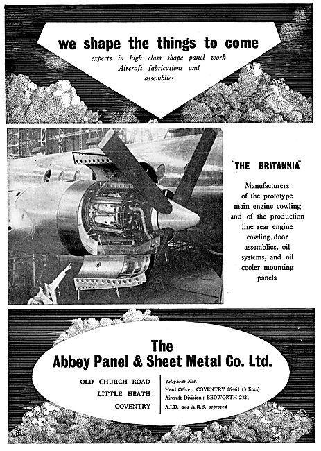 Abbey Panel Aircraft Sheet Metal Work & Assemblies