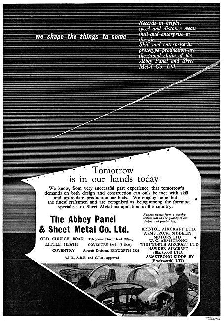 Abbey Panel Sheet Metal Work