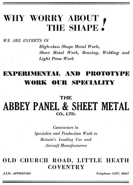 Abbey Panel Sheet Metal & Press Workers