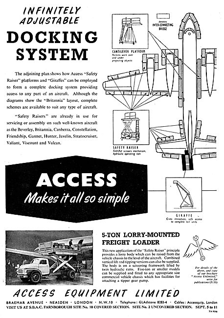 Access Equipment - Aircraft Handling Equipment. Freight Loader