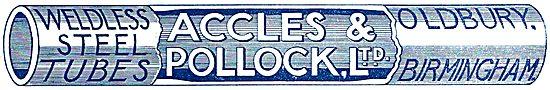 Accles & Pollock Weldless Steel Tubes