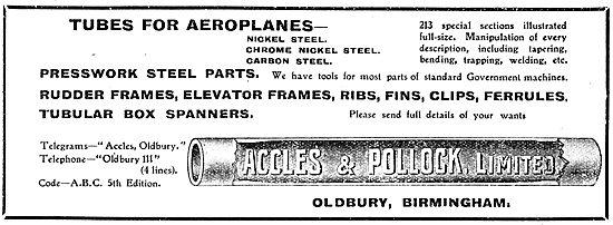 Accles & Pollock Tubes
