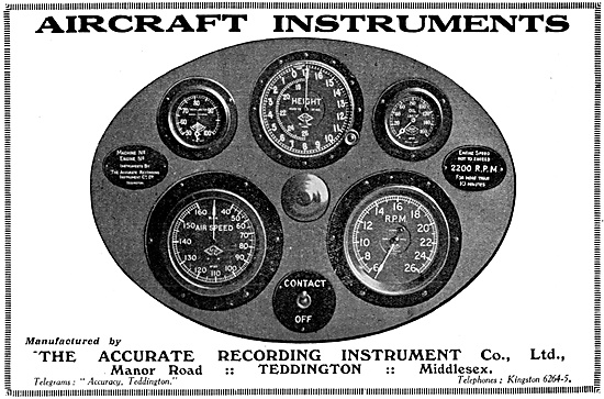 Accurate Recording Instruments - Accurate Aircaft Instruments